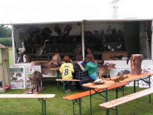 Rollende Waldschule auf Kinderfest